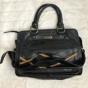Authentic Just Cavalli Leather Purse